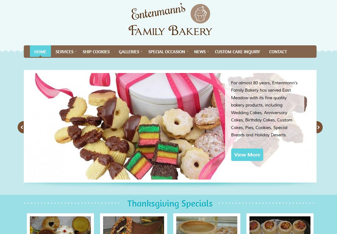bakery website template free - Ideal.vistalist.co